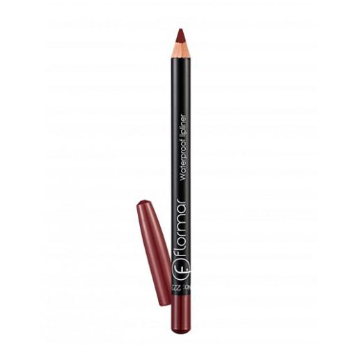 Flormar - Waterproof Lipliner Pencil 222 Crimson Brown