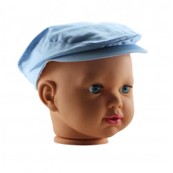 Baby Boy Cap, Light Blue