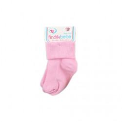 2 Pairs of Baby Socks New born, Pink