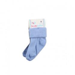 زوج جوارب الأطفال لحديثي الولادة, لون أزرق