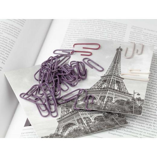 Madame Coco - Paperclip - 150 Pcs, Dark Damson