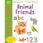 Miles Kelly - Get Set Go: Practice Book - Animal Friends