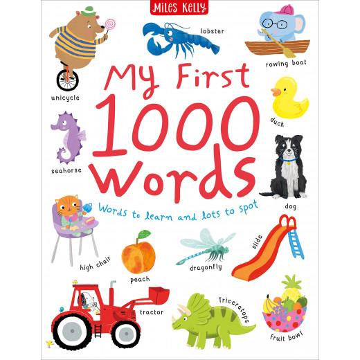 كتاب أول 1000 كلمة لي: كلمات يجب تعلمها والكثير من النقاط من مايلز كيلي