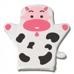 ليفة استحمام على شكل قفاز من فارلن, اللون الزهري