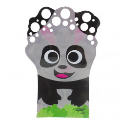 Glove A Bubble, Double Face Panda and Rabbit