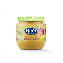 هيرو بيبي - وجبة فواكه مشكلة مع حبوب, 125 جرام