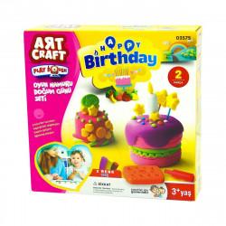 Art Craft Birthday Play Dough Set