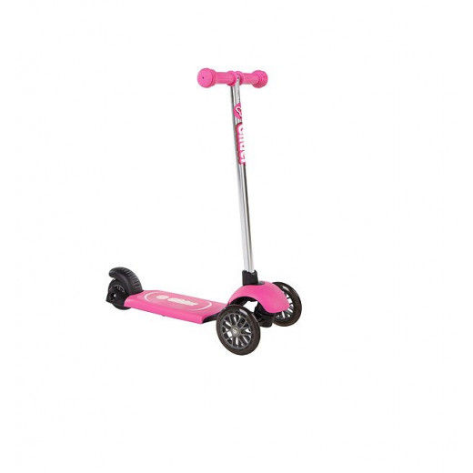 Yvolution Kid's Y Glider Deluxe Double Deck Scooter - Pink