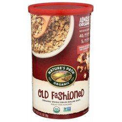 Nature's Path Organic Old Fashioned Organic Oats 510g