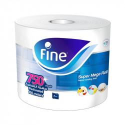 Fine Super Mega Roll Sterilized Paper Towels 750 Sheets