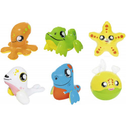 Best way Novelty Toys Up In & Over Bath Puffy Pals