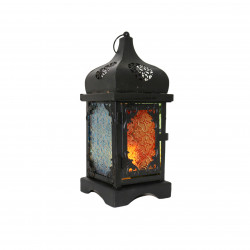 Ramadan Big Fanous Decoration Piece, Black