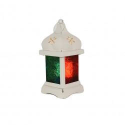 Ramadan Small Fanous Decoration Piece, White