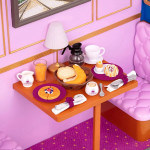 Our Generation Pegged Accessory - Dining Car Breakfast Set