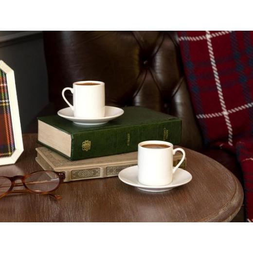 طقم فناجين قهوة 12 قطعة  تيفاني لادن من مدام كوكو