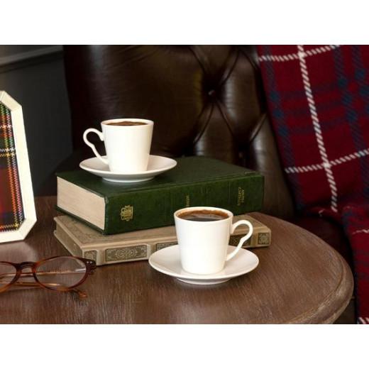 طقم فناجين قهوة  تيفاني أورلينا من 12 قطعة من مدام كوكو