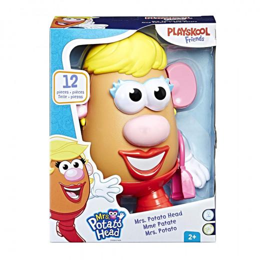 شخصية رأس البطاطا من بلاي سكول ، أشقر