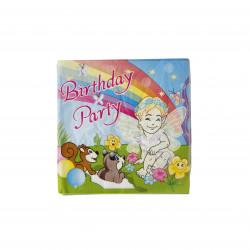 مناديل ورقية للاطفال ، بتصميم الملاك الملون باللون الزهري، 20 قطعة