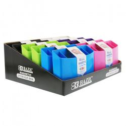 صندوق تخزين مغناطيسي من بازيك, ألوان متنوعة