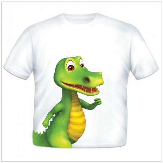 بلوزة صديق التمساح من جست اد اي كد ، 3 سنوات