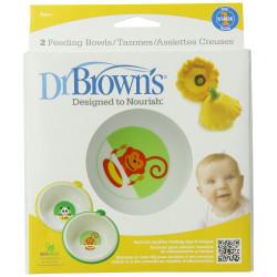 Dr. Brown's Feeding Bowl Animal Print
